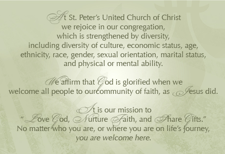 St  Peters Elmhurst | Love God, Nurture Faith, Share Gifts