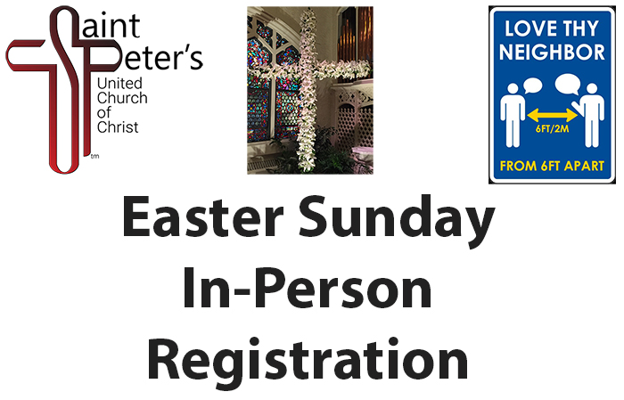 Easter Sunday In-Person Worship Registration