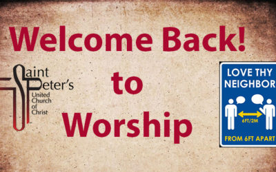 Welcome Back St. Peter's!