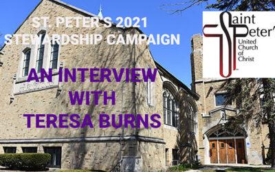 Teresa Burns Talks about the Stewardship Theme for 2021